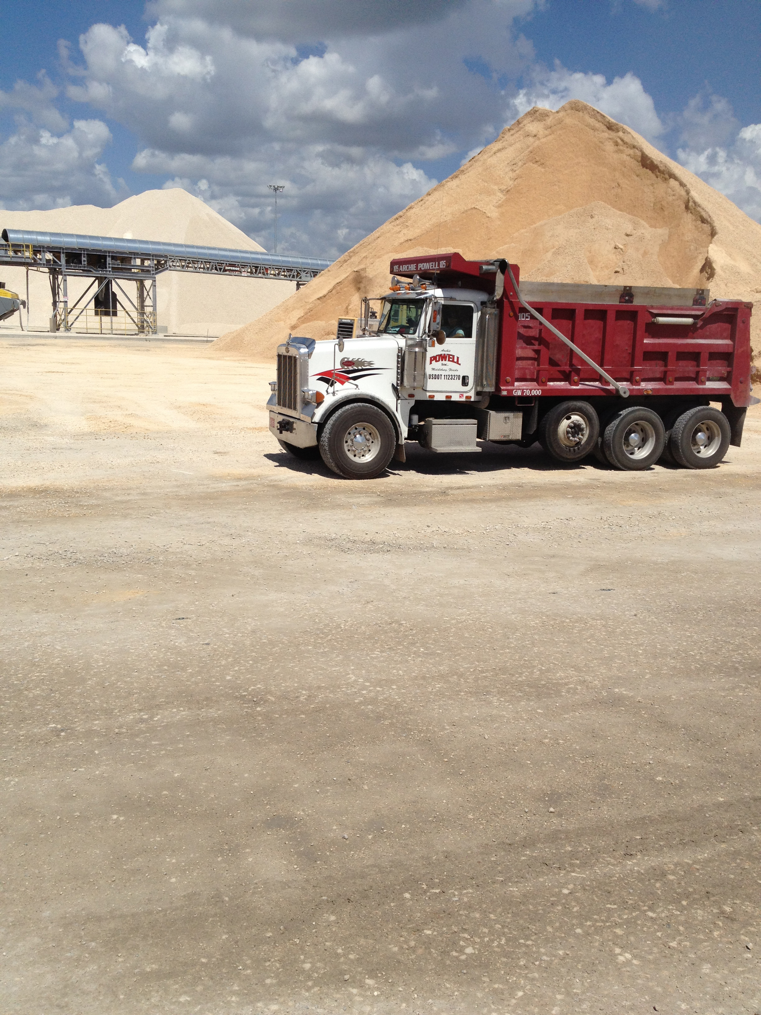 Archie Powell Trucking Fill Dirt Sand Topsoil